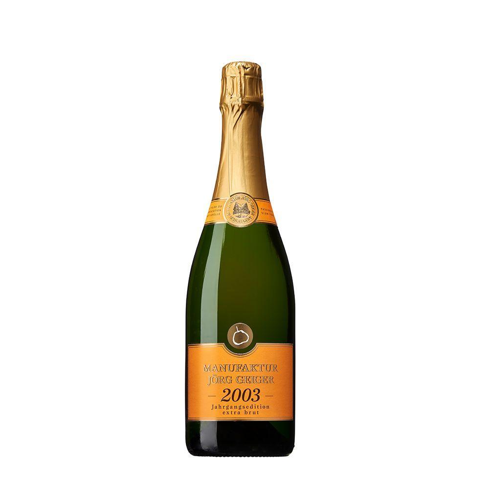 Birnenschaumwein - CBB brut Jahrgang 2003 0,75l