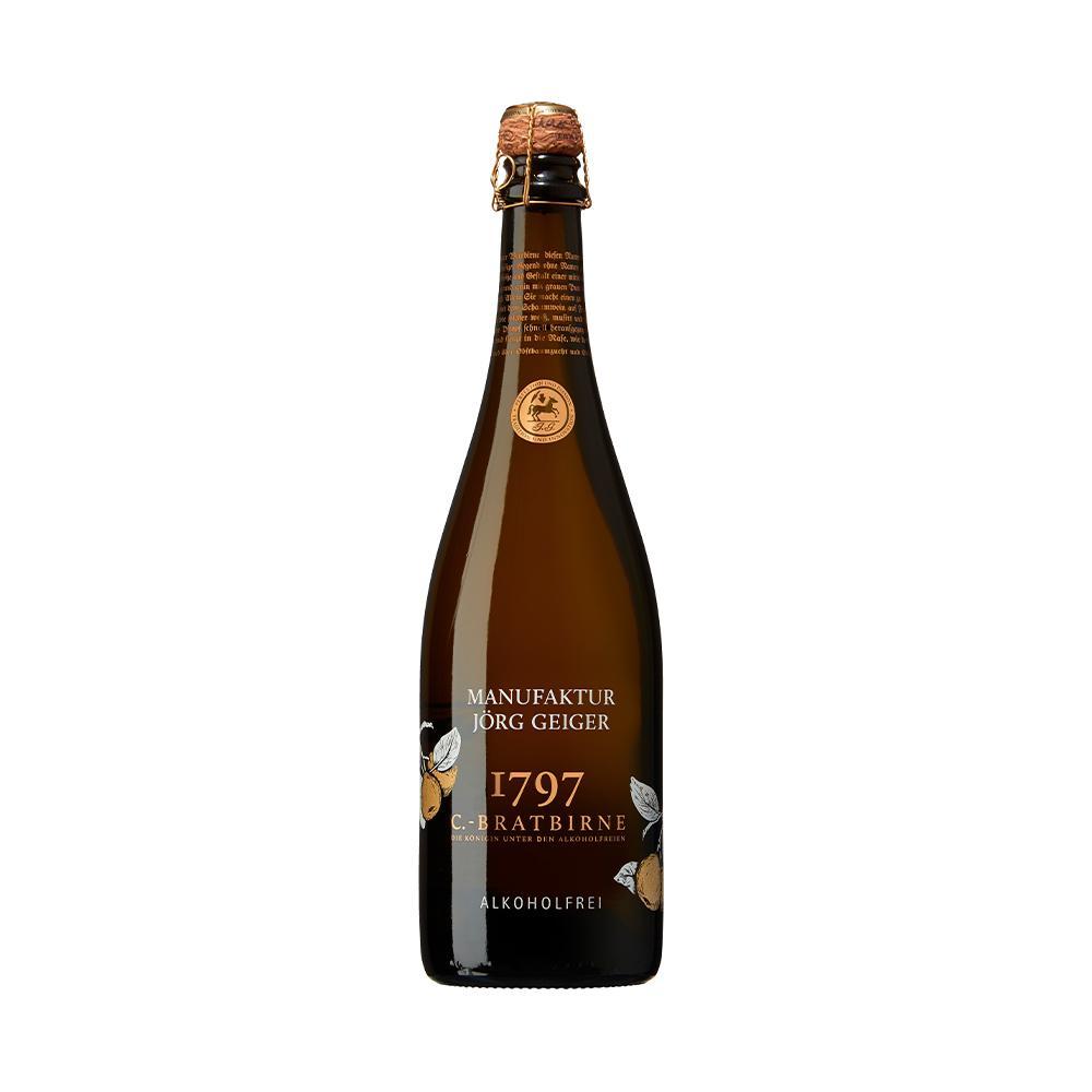 Birnenschaumwein Alkoholfrei 0,75l