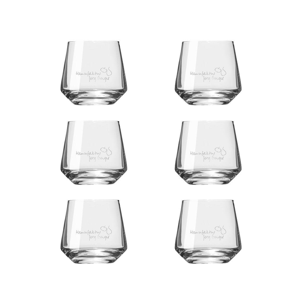 Whiskyglas exklusive Ausführung 6er Karton Zwiesel Whiskyglas mit Logo im 6er Bundle