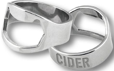 Flaschenöffner Ringe Schwäbischer WiesenObst Cider