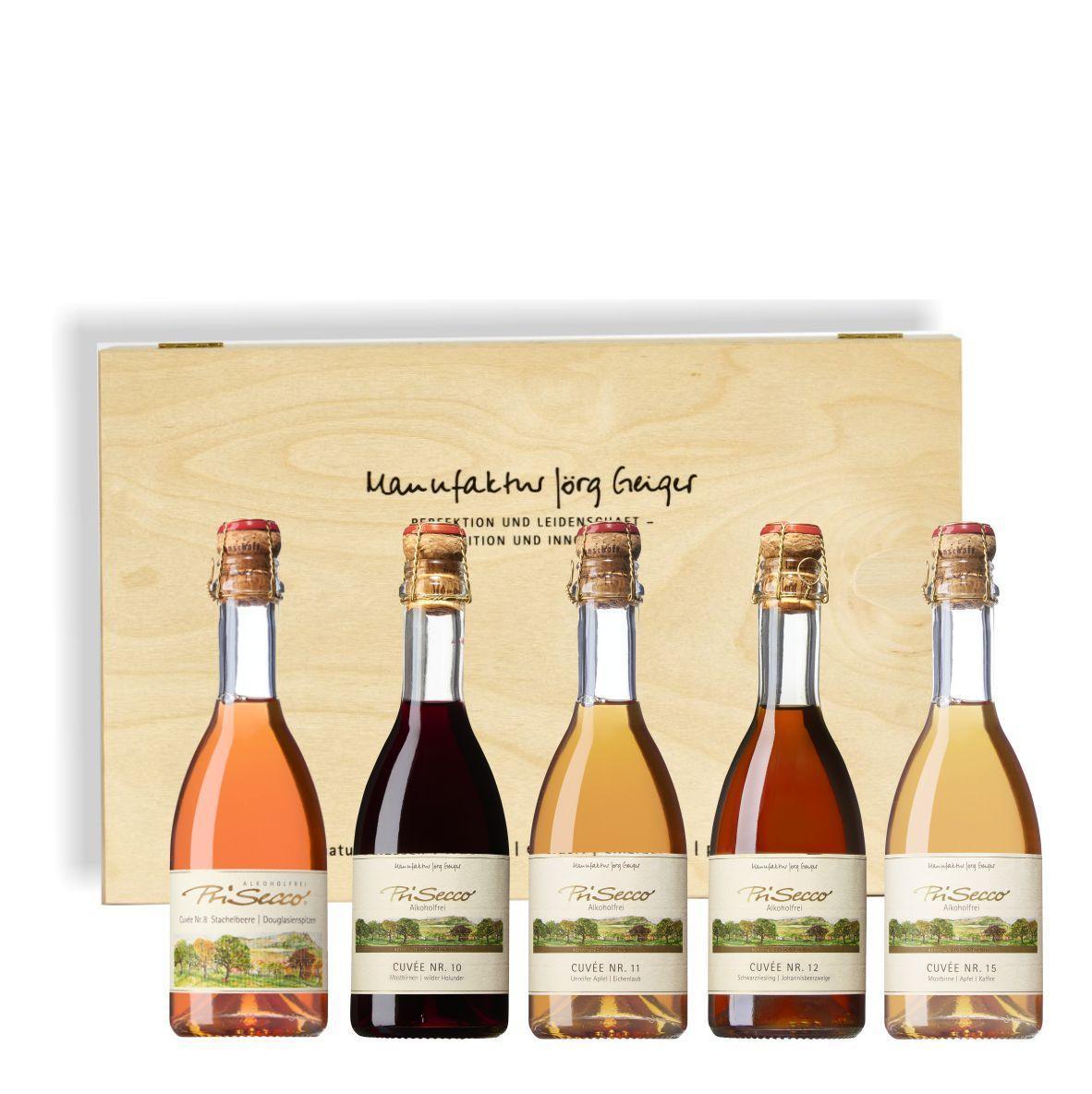 """Alkoholfreies Quintett """"die Ersten"""" 0,375l"""